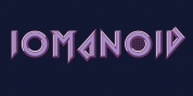Iomanoid font download