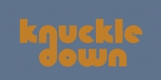Knuckle Down font download