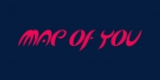 Map Of You font download