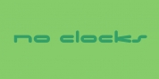 No Clocks font download