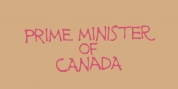 Prime Minister Of Canada font download