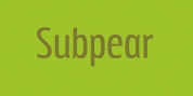 Subpear font download