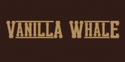 Vanilla Whale font download