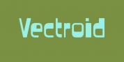 Vectroid font download