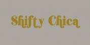 Shifty Chica font download
