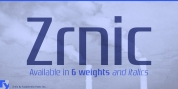 Zrnic font download