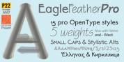 P22 Eaglefeather font download