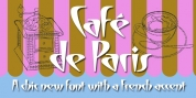 Cafe De Paris font download