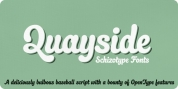 Quayside font download