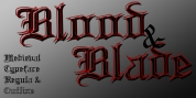 Blood And Blade font download