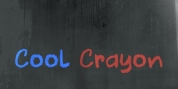 Cool Crayon font download