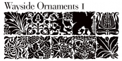 Wayside Ornaments font download