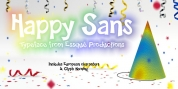 Happy Sans font download