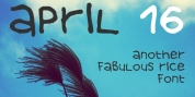 April 16 font download