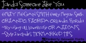 Janda Someone Like You font download