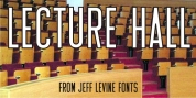 Lecture Hall JNL font download