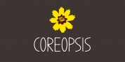Coreopsis font download