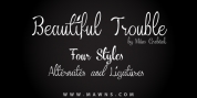 Beautiful Trouble font download