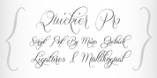 Quickier font download
