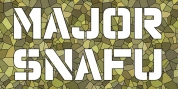 Major Snafu Pro font download
