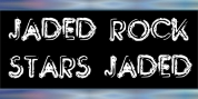 Jaded Rock Stars font download