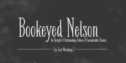 Bookeyed Nelson font download