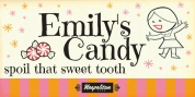 Emilys Candy Pro font download