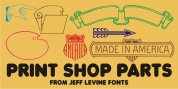Print Shop Parts JNL font download