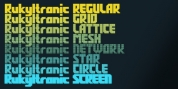 Rukyltronic font download