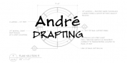 Andre Drafting font download