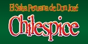 Chilespice font download