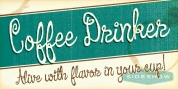 Coffee Drinker font download