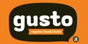 Gusto font download