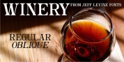 Winery JNL font download