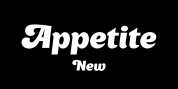 Appetite New font download