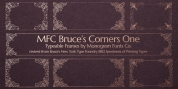 MFC Bruce Corners One font download