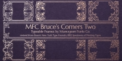 MFC Bruce Corners Two font download