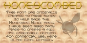 HONEYCOMBED font download