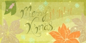 Christmas Card font download