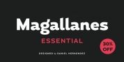Magallanes Essential font download