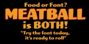 Meatball font download