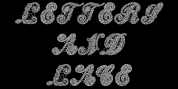 Letters And Lace font download