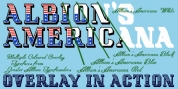 Albion's Americana font download