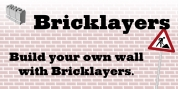 Bricklayers font download