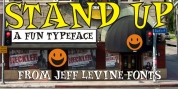 Stand Up JNL font download