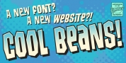 Cool Beans font download