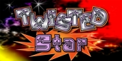 JWX Twisted Star font download