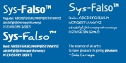 Sys Falso font download