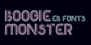EB Boogie Monster font download