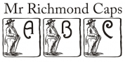 Mr Richmond Caps font download